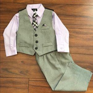 Suit Vest Set (4-piece)
